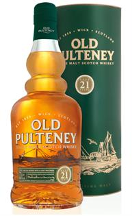 Old Pulteney Scotch Single Malt 21 Year 750ml